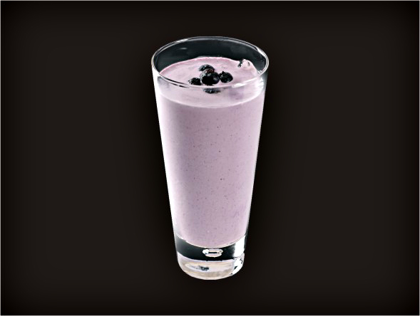 <b>Blueberry Milkshake</b><br/>
