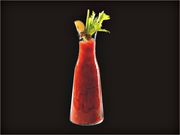 <b>1L Ultimate Bloody Mary</b><br/>Vodka, Tomato Juice, Lea & Perrins, Tabasco, Pepper