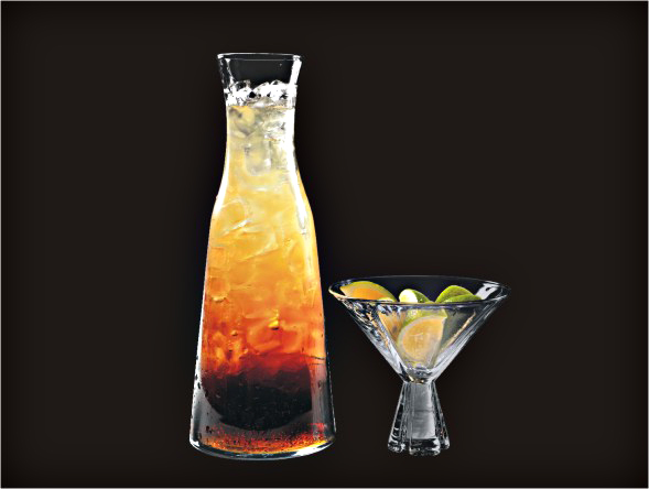 <b>1L Ultimate Bloody Mary long Island Iced Tea</b><br/>Vodka, Rum, Gin, Triple Sec, Tequila, Margarita Mix, Cola