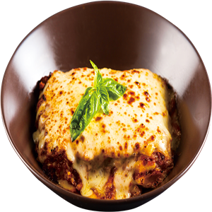 <b>Beef Lasagna Smothered in Meat Sauce and Mozzarella Cheese</b><br/>A northern Italian favorite!